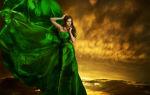 Значение зеленого цвета в психологии