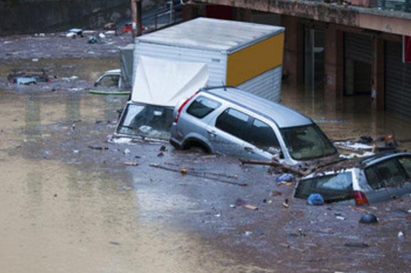 Наводнение в Италии
