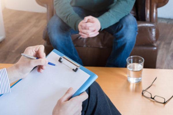 Общение психотерапевта с пациентом