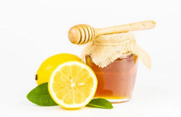 Баночка с медом и лимоны