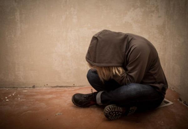 Человек в депрессивном состоянии